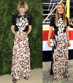 Marc Jacobs SS14 floral print gown: Anna Wintour or Anna dello Russo? - LaiaMagazine