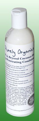 Purely Organics Earth  Beyond CoconutShea Deep Penetrating Hair Conditioner 8fl oz * Want additional info? Click on the image.