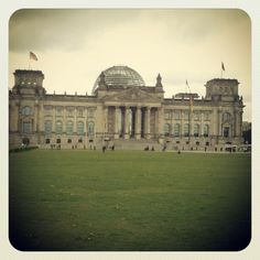 Sightseeing in Berlin .... awesome view from the dome of the Reichstag building