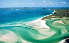 10 Islands in Australia & the Pacific: Readers' Choice Awa One of my favorite places in the world. Whitehaven Beach, Whitsunday Islands in AustraliaOne of my favorite places in the world. Whitehaven Beach, Whitsunday Islands in Australia Places Around The World, Oh The Places You'll Go, Places To Travel, Travel Destinations, Places To Visit, Around The Worlds, Great Barrier Reef, Dream Vacations, Vacation Spots
