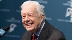 """Former President Jimmy Carter on Monday won his second Grammy Award, this time for the audio book version of his memoir, """"A Full Life: Reflections at Ninety."""""""