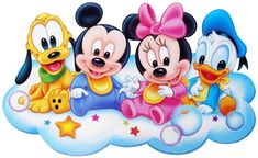 Baby Minnie Mouse Png Panda Free Images - Baby Mickey Mouse And Friends Disney Mickey Mouse, Mickey Mouse Clubhouse, Mickey Mouse E Amigos, Mickey Mouse And Friends, Disney Babys, Cute Disney, Disney Art, Walt Disney, Wallpaper Do Mickey Mouse