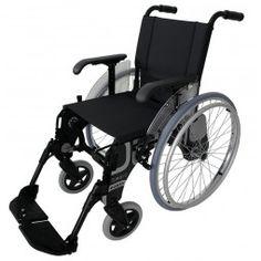 Silla de ruedas de aluminio FORTA Basic Negra. #antiescaras. #Silladeruedas #movilidad #accesibilidad #escaras #terceraedad #mayores #discapacidad #ortopedia #ortopediaplus #Wheelchair #Black