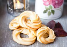 Low Carb Butter Cookie Rings