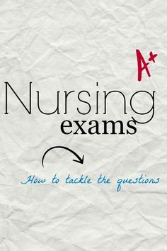 263 best Nclex Strategies images on Pinterest in 2019