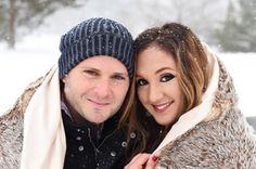 #winter #engagement #photoshoot #winterengagement #love #snowfall