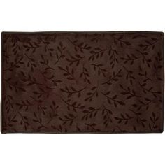 Home Dynamix Spa Brown 20 in. x 32 in. Microfiber Bath Mat-5-TSPA-500 at The Home Depot-$17.88