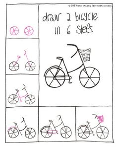 23 Best Bicycle Drawing Images How To Draw Learn Drawing Bicycle