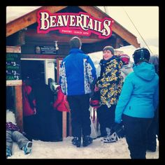 Eating BeaverTails pastries at the top of Mt. Washington is a must!!!  via @kirashi