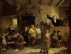 "William III Bromley - ""A Village School"" (1815-1888)"