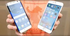 Samsung Galaxy S7 vs iPhone S6 Plus ! Care telefon are camera mai buna ? Vezi pe Cloe.ro