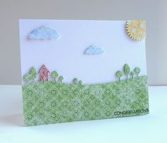 Inky Fingers: Patterned Paper