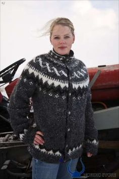 THE TRADITIONAL ICELANDIC SWEATER ~ Wish I still had mine from 1980 ~ |Icelandic Wool |