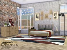 Sims 4 CC's - The Best: Bedroom by Wondymoon