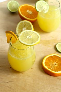 Sparkling Triple Citrus Lemonade