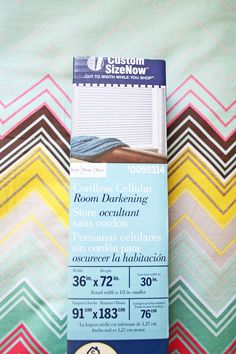 I promise that room darkening cellular shades will change your life. I've never slept better in my life!   www.rappsodyinrooms.com
