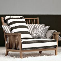 Grey Armchair by paola navone