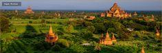 Golden Treasures of Myanmar: 14 days – Travel to Yangon and return from Yangon (cruise Pyay – Mandalay): AmaWaterways.com