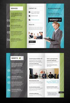 32 best tri fold brochures images on pinterest brochure template