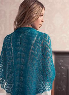 Ravelry: Songbird Shawl by Loraine Birchall ~ Knit Now Issue 14, October 2012 knit lace shawl   Songbird2