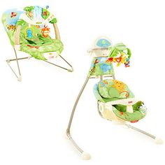 Fisher Price - Rainforest Swing and Bouncer Set