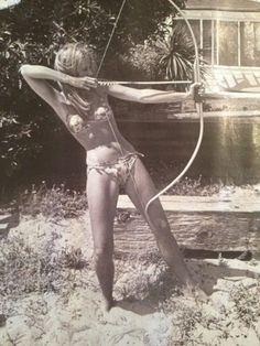 Jillian Barberie's Photo: Perfect natural beach body @Janefonda taken by Dennis Hopper Malibu. Been on my fridge for 5 yrs | Lockerz