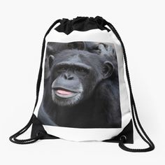 'Funny faces' Drawstring Bag by DeonsDesigns Have A Laugh, Funny Faces, Woven Fabric, Drawstring Backpack, Art Prints, Printed, Awesome, Bags