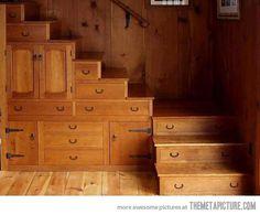 Amazing design....Multi-Tasking Staircase