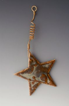 Star Ornament by JudithArnaudGary on Etsy