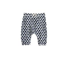 J.Crew - Baby easy pant in heart stack