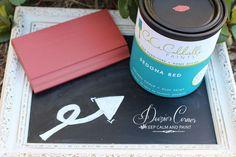 CeCe Caldwell's Natural Chalk + Clay Paints - Sedona Red - Doozie's Corner, TX $34.95 per quart