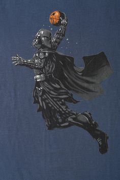 Vader Dunking Tee- I don't know why this exists but it was obviously needed!