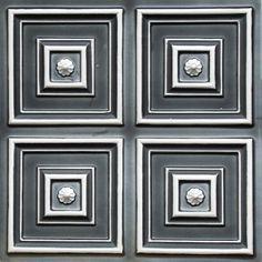 112 Faux Tin Ceiling Tile - Copper