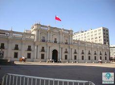Palácio de La Moneda em Santiago do Chile.