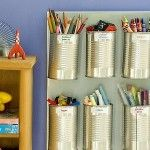 Things to do with #tincans ... I love #organization . And crayons. So this should go together well.