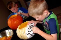 Preparing newly adopted children and children in foster care for Halloween fun. (Photo courtesy of Christina Dolezal)