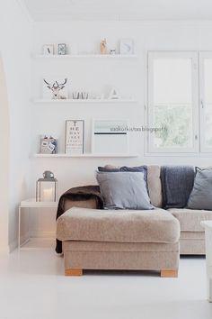shelves - interesting for family room?