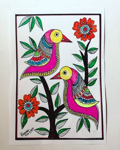 Madhubani Art, Madhubani Painting, Worli Painting, Sketch Art, Tribal Art, Mandala Art, Mehndi Designs, Zentangle, Buddha