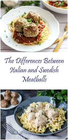 Swedish Meatballs and Classic Italian-style Meatballs go head to head. Are they really that different?  Click here to find out!  #italianmeatball #swedishmeatballs #thecookful