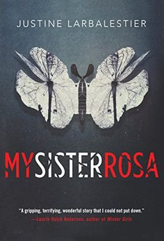 """My Sister Rosa by Justine Larbalestier   young boy suspects his 10 yr old sister of being a budding psychopath-- always had to rpotect he rnow must protect others from her  """"Why we recommend it for Slytherins: This disturbing read about a psychopathic sister is perfect for the secret Death Eaters among us."""""""