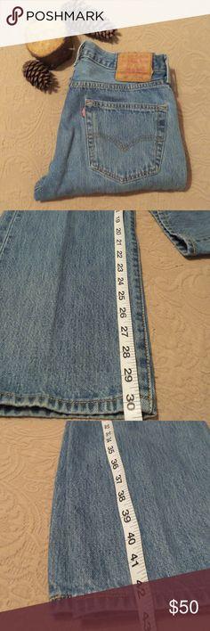 Men Vintage Levi's 501 Jeans Stone washed jeans. 100 cotton Vintage Levi's 501 jeans Jeans Bootcut