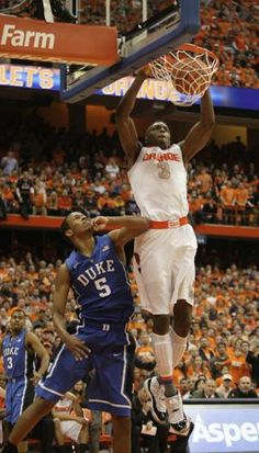 SYRACUSE, N. (AP) -- Syracuse sophomore forward Jerami Grant is entering the NBA draft, becoming the second Orange starter in less than three weeks to announce he's going pro. Rodney Hood, Syracuse Orangemen, Syracuse Basketball, Nba Draft, Sports News, Pin Up, Content, Bag, Purse