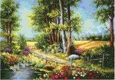 Vara colorata Cod produs: 8.77 Stoc: Pe stoc Culori: 35 Dimensiune: 19 x 27 cm Detalii Produs Varianta imprimata are dimensiunea aproximativa de 19 x 27 cm. Modelul are diagrama A3 cu semne mari (60 x 90 puncte/A3). Country Landscaping, Cross Stitch Art, Mosaic Crafts, 5d Diamond Painting, Cross Paintings, Craft Kits, Landscape Paintings, Landscapes, Paths