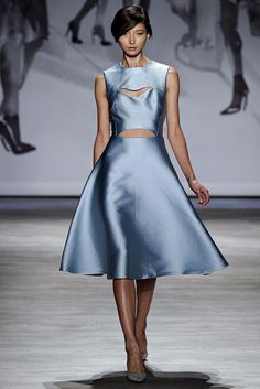 Lela Rose Spring 2015 Ready-to-Wear Fashion Show - Evelina Mambetova