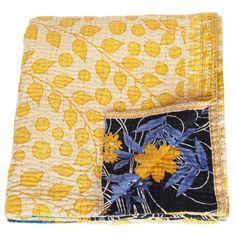 kantha sari blanket surya_fairtrade