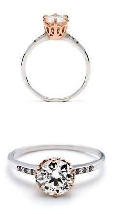 Modern Diamond Ring ❤︎