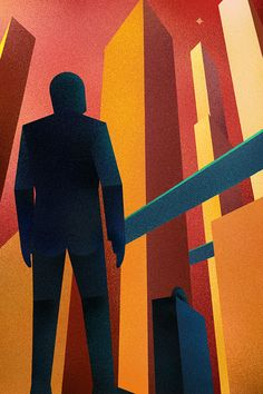 Retrofuturistic Lem posters: Return from the Stars