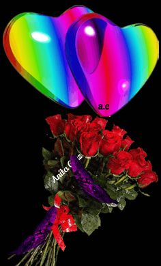 Beautiful Rose Flowers, Beautiful Gif, Amazing Flowers, Gifs, Mothers Day Roses, Cute Love Pictures, Good Morning Flowers, Love Heart, Butterfly