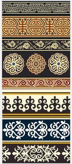 Mongolian Patterns More