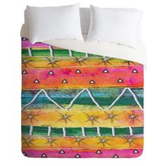 DENY Designs Home Accessories | Ingrid Padilla Mount Sunrise Duvet Cover